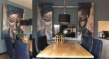 Klantfoto: Listen van Flow Painting, als naadloos behang