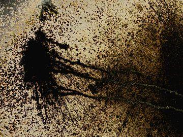 14. digital art, abstract, rare vogel van Alies werk