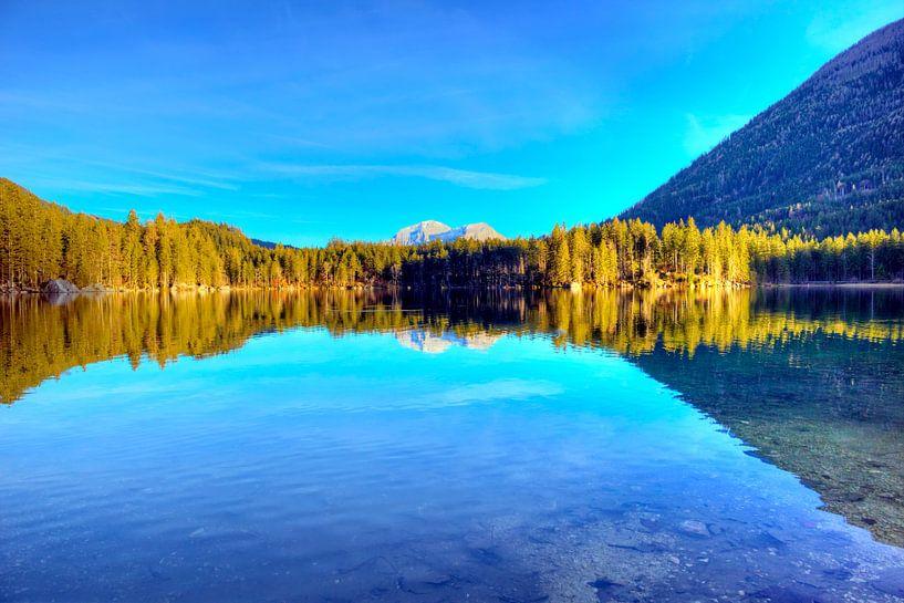 Wunderschöne Spiegelung im Hintersee von Roith Fotografie
