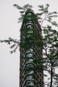 Der Vesteda-Turm in Eindhoven von Robin van Steen