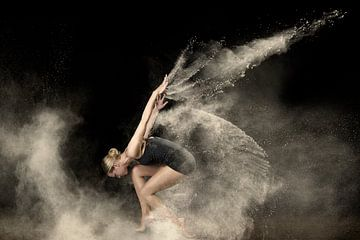 Flour dance sur