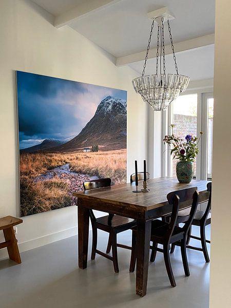Kundenfoto: Ferienhaus am Fluss in Glencoe von Bob Slagter, auf akustische wandbilder