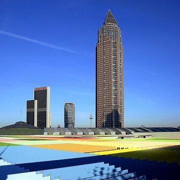 Messeturm Frankfurt von Patrick Lohmüller