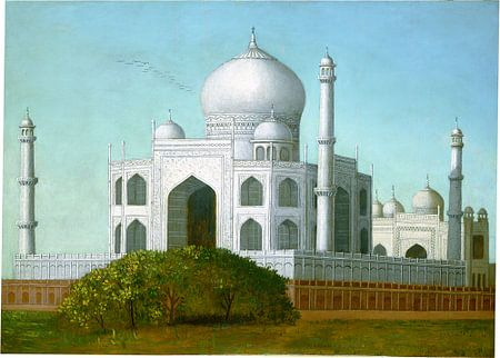 Field, Taj Mahal,India, Erastus Salisbury Field