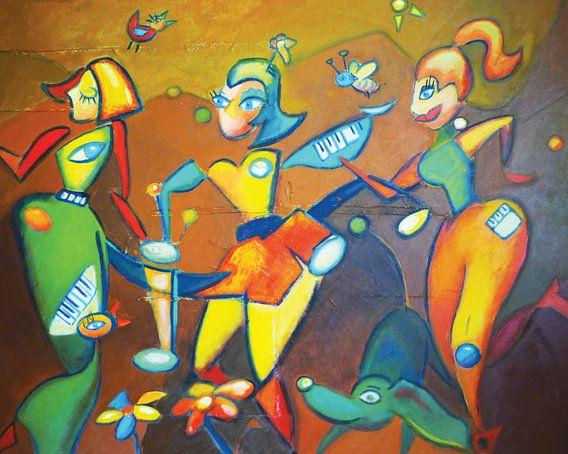 Samen dansen van Lorette Kos