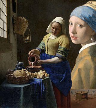 Die Milchmagd & das Mädchen mit dem Perlenohrring