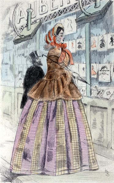 Mode 1858, Paris, Boutet, Henri (1851-1919) van Liszt Collection