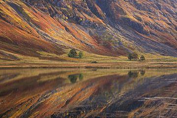 Loch Achtriochtan Schottland von Miranda Bos