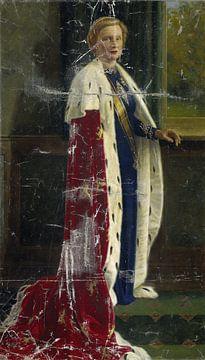 Königin Juliana der Niederlande in ihrem Krönungskleid, Henricus Rol