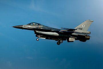 F-16 Fighting Falcon van
