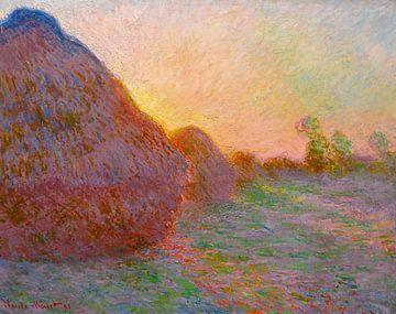 Hooiberg, Claude Monet - 1891 von