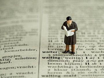 Un homme avec un journal #2 sur Lex Schulte