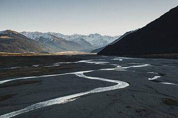 Rivier bij Arthur's Pass National Park van Tom in 't Veld