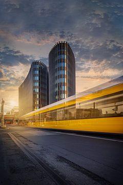 Berlin Friedrichstraße von Iman Azizi