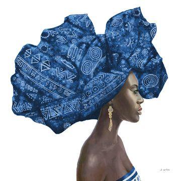 Pure Style II Blau, James Wiens von Wild Apple