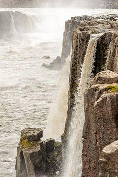 Selfoss waterval in IJsland van Hein Fleuren