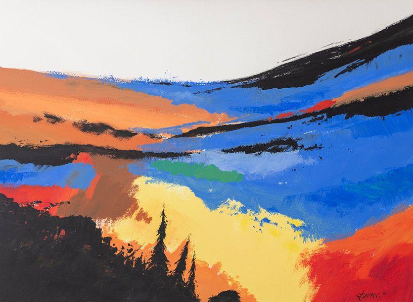 Hans Sturris - Unknown valley - reproductie van Galerie Ringoot