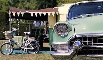 Camping Cadillac 1960 van Wilko Zoer