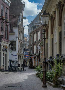 Gravenstraat Amsterdam van Peter Bartelings Photography