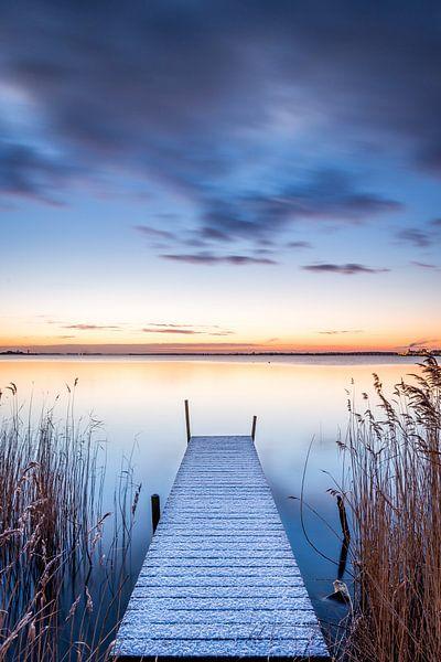 IJmeer vanaf Durgerdam van Frederik van der Veer