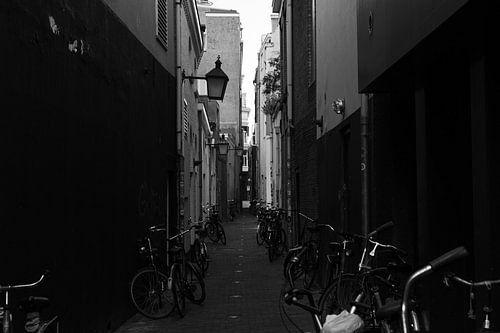 Steeg in Utrecht met overal fietsen