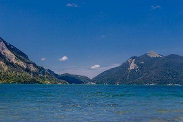 Wunderschöne Seenlandschaft am Walchensee von Oliver Hlavaty
