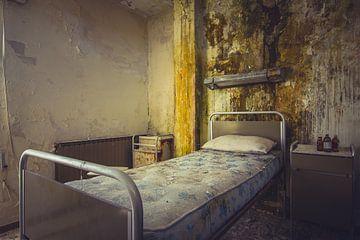 Slaapkamer in ziekenhuis van Tamara de Koning