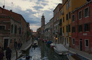 Venetië - Dorsoduro in de avond van arte factum berlin
