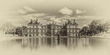Palais de Luxembourg in Parijs van Toon van den Einde