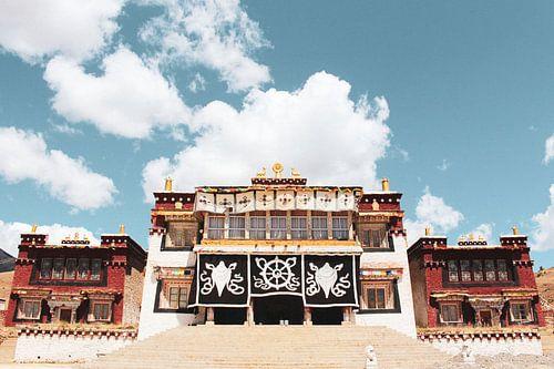 Tibetaans klooster in Oost-Tibet