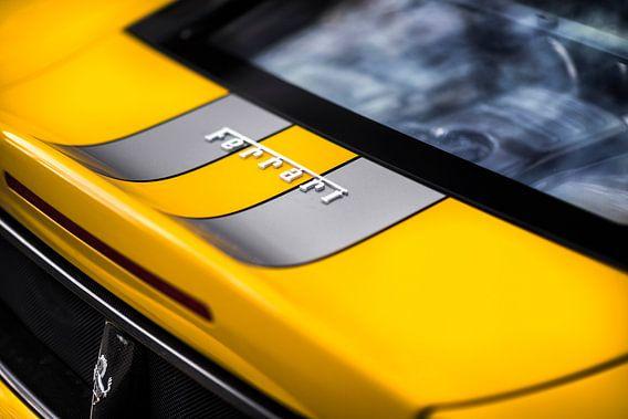 Ferrari 430 Scuderia detail van Ansho Bijlmakers