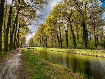 Grand canal Renswoude van Frans Rutten