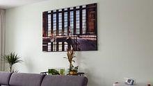Kundenfoto: Symmetrie Fenster von Sven van der Kooi (kooifotografie), als akustikbild