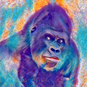 Monkey Gorilla von Beate Braß