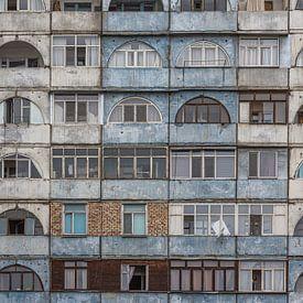 Appartementencomplex in Bisjkek | Kirgistan van Photolovers reisfotografie