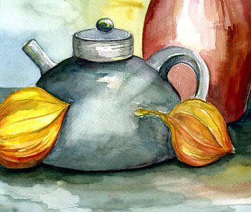 Küchenbild - Stillleben von Claudia Gründler