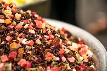 Thee melange op een soek in het Midden-Oosten van Reis Genie