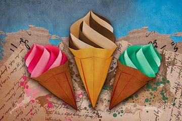 Origami trifft Küche - Eiscreme von Erich Krätschmer