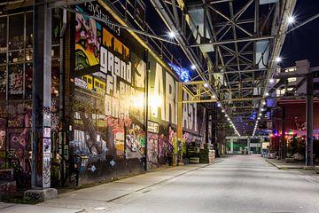 StrijpS by night van Peter van Rooij