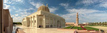 Grand Mosque Masqat in Oman van Ruud Overes
