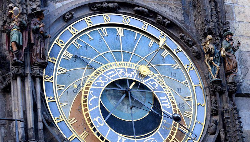 Prague Astronomical Clock  van Jack Turner