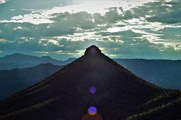 Ondergaande zon in Arizona von Lisanne Rodenburg