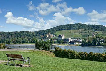Uitzicht op Bad Hönningen van Peter Eckert
