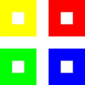 Kleurpermutatie | ID=07 | V=06 | P #01 | WW-RBGY van Gerhard Haberern