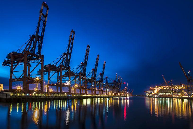 Containerhafen Hamburg von Alexander Schulz