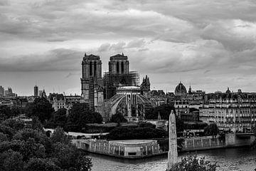 Paris - Notre Dame von W.Schriebl PixelArts