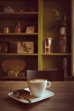 Retro Coffee van Elianne van Turennout