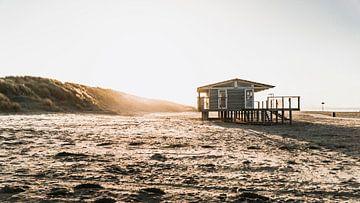 Strandhaus in der Nähe des Hook of Holland von Marcel Kool