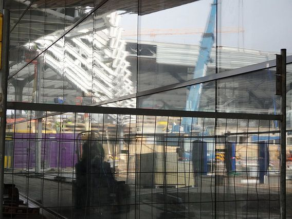 Rotterdam CS - Under Construction 2 van MoArt (Maurice Heuts)
