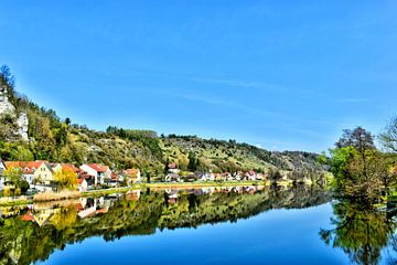 Panoramisch uitzicht Kallmünz van Roith Fotografie